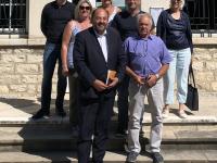 Le député de Saône et Loire, Raphaël Gauvain, à la rencontre de la nouvelle équipe municipale de Saint Loup de Varennes