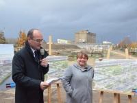 Livraison annoncée pour le printemps pour le parc écologique et sportif de l'entrée sud de Chalon sur Saône