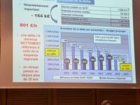 Pour le dernier conseil municipal du mandat, Florence Plissonnier affiche les comptes