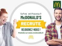 McDonald's Chalon Sud Carrefour recrute une douzaine de personnes
