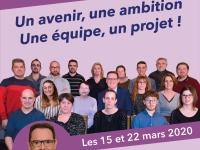 MUNICIPALES- Philippe EXERTIER et  SASSENAY ENSEMBLE MAINTENANT présenteront leur projet vendredi 21 février à 20h00 salle Lamartine