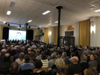 250 personnes à la soirée de présentation du projet de la liste « Ensemble pour Saint Germain » conduite par Christian GUIGUE