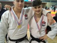 Mathis RAHA et Mattéo MENARD qualifiés au championnat de France Juniors 1ère Division !