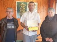 Les gagnants du Jeu des bûchettes au Fournil de Saint Rémy sont connus