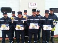 Les Sapeurs Pompiers de LUX débutent la tournée des calendriers 2020
