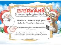 Ne manquez pas l'arrivée du Père Noël !