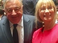 SENATORIALES - Gérard Larcher apporte son soutien à la candidature de Marie Mercier