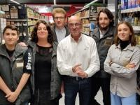 Beau succès populaire pour l'inauguration du nouveau magasin Colruyt de Givry