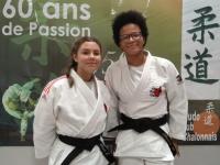 Duo de ceintures noires avec Laura PERONET et Lucie ALLARD.