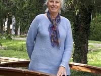 Annick Bourbon Rochette,  romancière du Sud Chalonnais vient de sortir son premier roman