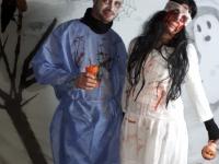 Le 31 octobre, Épervans s'est paré de son plus beau costume d'Halloween pour le plaisir des habitants.