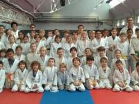 55 Jeunes en stage sur les tatamis !