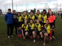 Rugby féminin: Les filles du lycée Mathias se qualifient pour les championnats de France UNSS