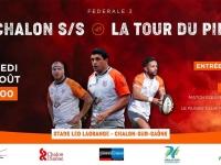 Matchs de préparation du RTC confirmés pour ce  samedi 29 août à Chalon