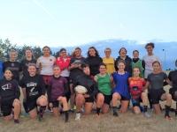Reprise d'entrainement pour les filles du RFCC (Rugby Féminin Chalonnais Coquelicots)
