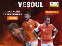 Ne ratez pas le 1er match de Championnat de rugby fédéral 3 RTC / Vesoul