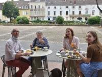 Brunch de l'EDA (Espace des Arts, Scène Nationale chalon-sur-Saône) réussi pour le futur gérant Yannick Louis