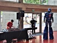 Avec DJ Liam, même 'Robot' s'est mis à danser