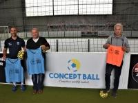 Remise d'équipements sportifs par le District de football du Pays Saônois de la Fédération Française de Football à la 'Section Loisir' de l'Académie du Foot!