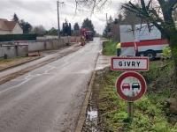 C'est parti pour les travaux de rénovation de la rue de Dracyà Givry