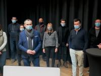 L'équipe municipale givrotine s'adapte au contexte sanitaire pour présenter ses vœux