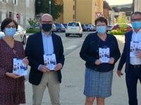 DEPARTEMENTALES –  CANTON DE GIVRY: Le binôme Lanoiselet - Martin a donné le coup d'envoi de sa campagne