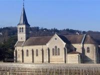 L'église Saint Martin de Poncey (Givry) est fermée au public jusqu'à nouvel ordre
