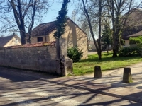 Givry: L'agrandissement de la gendarmerie va entraîner le réaménagement du chemin piétonnier qui la longe