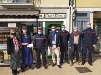 Encore un beau geste de solidarité en faveur de l'épicerie givrotine «Chez Dom's»