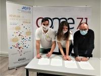 Les trois Jeunes Chambres Economiques de Saône-et-Loire partenaires de la CPME 71