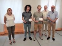 Le Rotary Chalon Bourgogne Niépce attribue le prix Dominique-Passerat à deux élèves du Conservatoire du Grand Chalon.