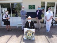 Coronavirus : Les rotariens de Chalon Saint-Vincent à l'EHPAD de Sevrey
