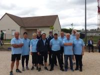L'Amicale Boules de Châtenoy-le-Royal a repris la compétition