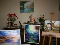 Alice Capelli, une artiste habitée par le don de la peinture