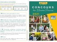 Concours départemental et communal 2021 des Maisons Fleuries : les inscriptions sont ouvertes