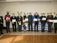 Journée Mondiale du Bénévolat : 10 bénévoles du Département récompensés aux Bizots