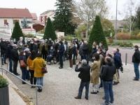 Les Châtenoyens ont observés une minute de silence en mémoire de Samuel Paty