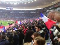 C'est beau un stade qui chante !