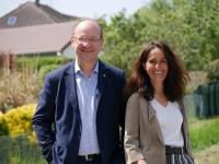 Départementales, Chalon 3 - Françoise Vaillant et Vincent Bergeret envoient un grand merci à tous