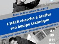 L'A S Châtenoy-le-Royal recrute des éducateurs / éducatrices pour la saison 2021/2022