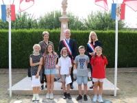 Commémoration du 81e anniversaire de l'appel du 18 juin 1940 à Châtenoy le Royal.