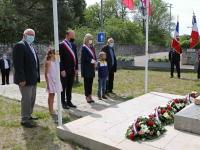 Une commémoration du 8 Mai 1945 à Châtenoy-le-Royal sans public