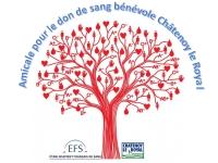 Collecte de sang Lundi 19 Avril de 15h30 à 19h à Châtenoy-le-Royal.