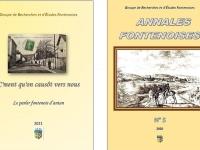Première vente publique de deux ouvrages à la maison du patrimoine de Fontaines