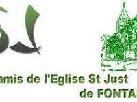 Les amis de l'église Saint Just de Fontaines se battent pour sauver l'église du XIIIème siècle.