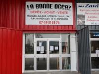 ̏La Bonne Occaz˝, un nouveau magasin à la zone vertede Châtenoy le Royal