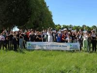 Le collège Pasteur de Saint Rémy a participé à la course pour lutter contre la faim.