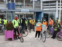 Ça roule à Saint Rémy pour découvrir le projet ̏Plan vélo˝ 2020 / 2025