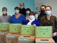 La collecte de masques chirurgicaux est lancée à Saint Rémy