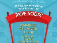 Drive Vœux à Saint Rémyce dimanche 24 janvier